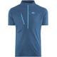 Millet M's Elevation Short Sleeve Zip Shirt poseidon